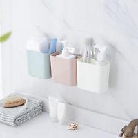 Bathroom Plastic Basket Shower Caddy Hanging Rack Tidy Shelf Organiser Storage S