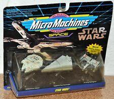 Star Wars Micro Machines Millennium Falcon Imperial Star Destroyer X-wing 1993