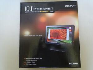 """Lilliput Monitor 10,1"""" 1024x600 16:9 FA1012-NP/C/T Multitouch HDMI"""