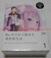 Re:Zero kara Hajimeru Isekai Seikatsu Vol.1 Limited Edition Blu-ray Novel Box