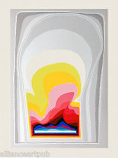 """""""SPACE CURTAINS"""" Beautiful Large S/N Serigraph by Arthur Secunda"""