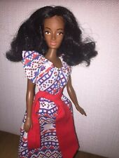 vintage barbie clone aa donna sommerwind petra plasty 70s african american doll