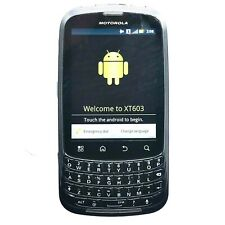 Motorola Admiral XT603 - Grey (Sprint) 3G CDMA Qwerty Touch Android Smartphone