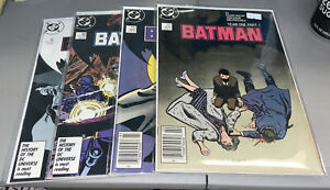 Batman #404-407 DC Year One Complete Series 1987 404 405 406 407