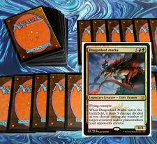 mtg RED GREEN ATARKA RAMP DECK Magic the Gathering rare cards