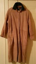 GORGEOUS VINTAGE Womens' Leather Duster Coat