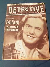 Détective 1953 BEGUM BRUYèRES ESTRETEFONDS ABEILHAN