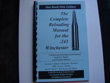 .243 Winchester The Complete Reloading Manual Load Books Latest Version