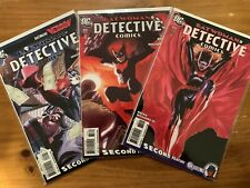Detective Comics 854, 858, 860 Variant Lot - Batwoman - 1st App of Alice - VF/NM