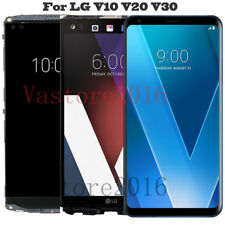 For LG V20 V30 V35 ThinQ LCD Display Touch Screen Digitizer Replacement +Frame
