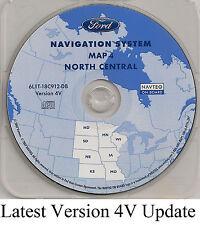 05 06 07 Ford Escape Hybrid Navigation Map Cover ND SD NE KS MN IA MO Partial WI