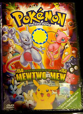 English Language ~ Pokemon The First Movie: Mew Two VS. Mew ~ DVD ~ (1st Movie)