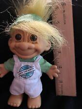Cute Blue Hair 4 Inch Russ Troll Doll -Save the earth