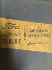 1950 Manzel Catalog Tools Ford Mercury 1939-1950 Illust FLATHEAD like K R Wilson