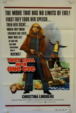 They call her One Eye original release US onesheet movie poster