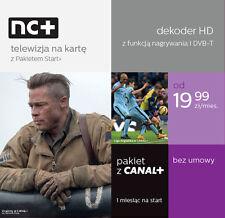 Telewizja na karte NC+ Canal+ Cyfrowy Polsat HD Cyfra HBO 2 Miesiace free Sport