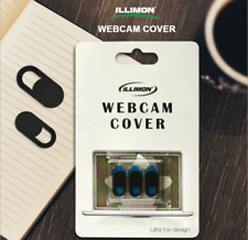 3Pcs/Set Webcam Cover for Privacy Open or Close with just one simple movement
