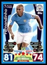 Match Attax 2017/2018 Fernandinho Manchester City No. 190