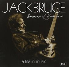 JACK BRUCE - SUNSHINE OF YOUR LOVE A LIFE IN MUSIC: 2CD ALBUM SET (2015)