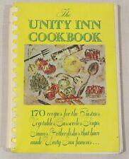 The Unity Inn Cookbook, 170 recipes, 1966, Unity School Christianity, meatless