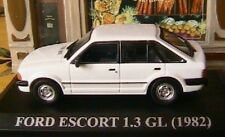 FORD ESCORT XR3 1982 BLANCHE WHITE 1/43 IXO ALTAYA NEW WEISS INJECTION bianca