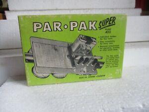 golf cart accessory PAR-PAK super model 400 nib vintage