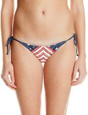 Rip Curl Women's Junior's Starstruck Tie Side Bikini Bottom, Navy