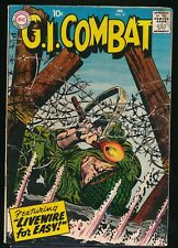 G.I. COMBAT No. 57 1958 DC War Comic Book LIVEWIRE for EASY 4.0 VG