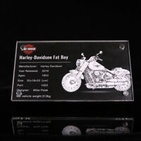 Display plaque  for LEGO Harley-Davidson Fat Boy 10269 (AUS Top Rated  Seller)