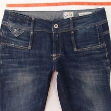 Femme G-Star Cube SKINNY WMN stretch Blue Jeans W30 L32 UK Taille 10