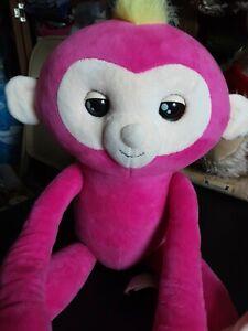 "2018 WooWee fingerlings monkey plush  Makes Sounds 18"""