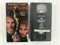 Strip Search (VHS, 1997) Michael Pare, Pam Grier - Tested Plays Great!