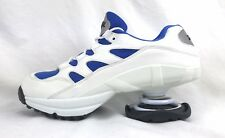 Z Coil Freedom M 12 Lace Up White Leather & Blue Mesh Shoes 46 EU 11 UK 30 CM
