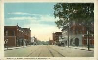 Brunswick GA Newcastle St. South c1920 Postcard