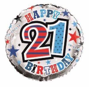 "18""  BIRTHDAY FOIL  BALLOONS"