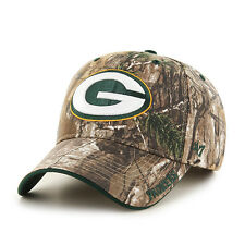 Green Bay Packers '47 Brand Camo Realtree Frost MVP Adjustable Hat