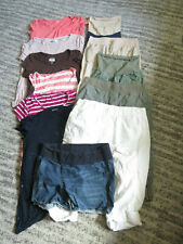 Huge lot MATERNITY clothes size Large Motherhood OLD NAVY GAP  FREE SHIP 12 item