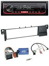 JVC 1DIN Lenkrad USB MP3 Autoradio für BMW 3er E46 (98-07)