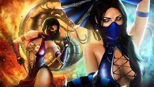 Mortal Kombat Poster Length : 1200 mm Height: 680 mm  SKU: 500
