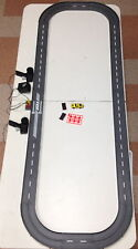 1993 UNUSED TYCO TCR Slotless Slot Car Total Control RACE SET 13ft + 3 Vehicles!