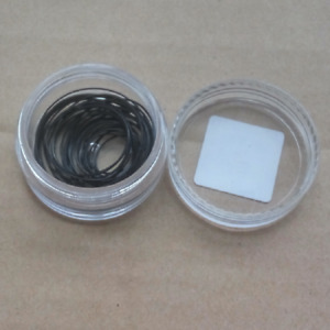0.3/0.4/0.5/0.6mm Thick Watch Back O Ring Rubber Washer Gasket 12-30mm 38PCS