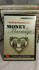 Creating abundance in money and marriage 4 - CD Set by Tim and Sandy Redmond