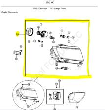WK Jeep Grand Cherokee - RH Headlamp - 55079378AF
