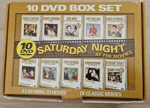 Saturday Night At The Movies Classic DVD (10 discs) All Regions PAL | VGC