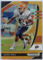 106/149 Aaron Jones NEON ORANGE PRIZM Card #2 2020 Prizm Draft Picks Football RB