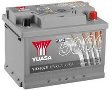 Ford B-Max, Fiesta, Focus, Mondeo, Sierra (72-) YUASA 12V Car Battery YBX5075