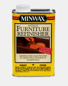 New! Minwax Antique Wooden Furniture Refinisher Removes Old Finishes 1 qt. 67300