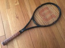 "WILSON PRO STAFF 6.0 85 MID SIZE tennis racquet prostaff SAMPRAS 4 3/8"" TAIWAN"