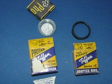 "VINTAGE ""TIFFEN SERIES #C CAMERA ADAPTER RING & Photographic Filter ~ IN BOX"
