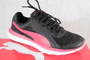 Puma Damen Sneaker Schnürschuh Sportschuh Halbschuh schwarz/ pink Neu!